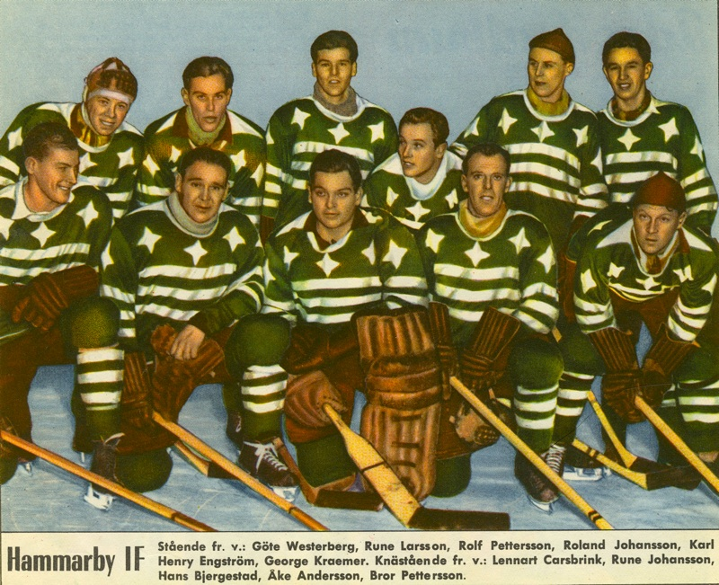 Hammarby Hockey 1954